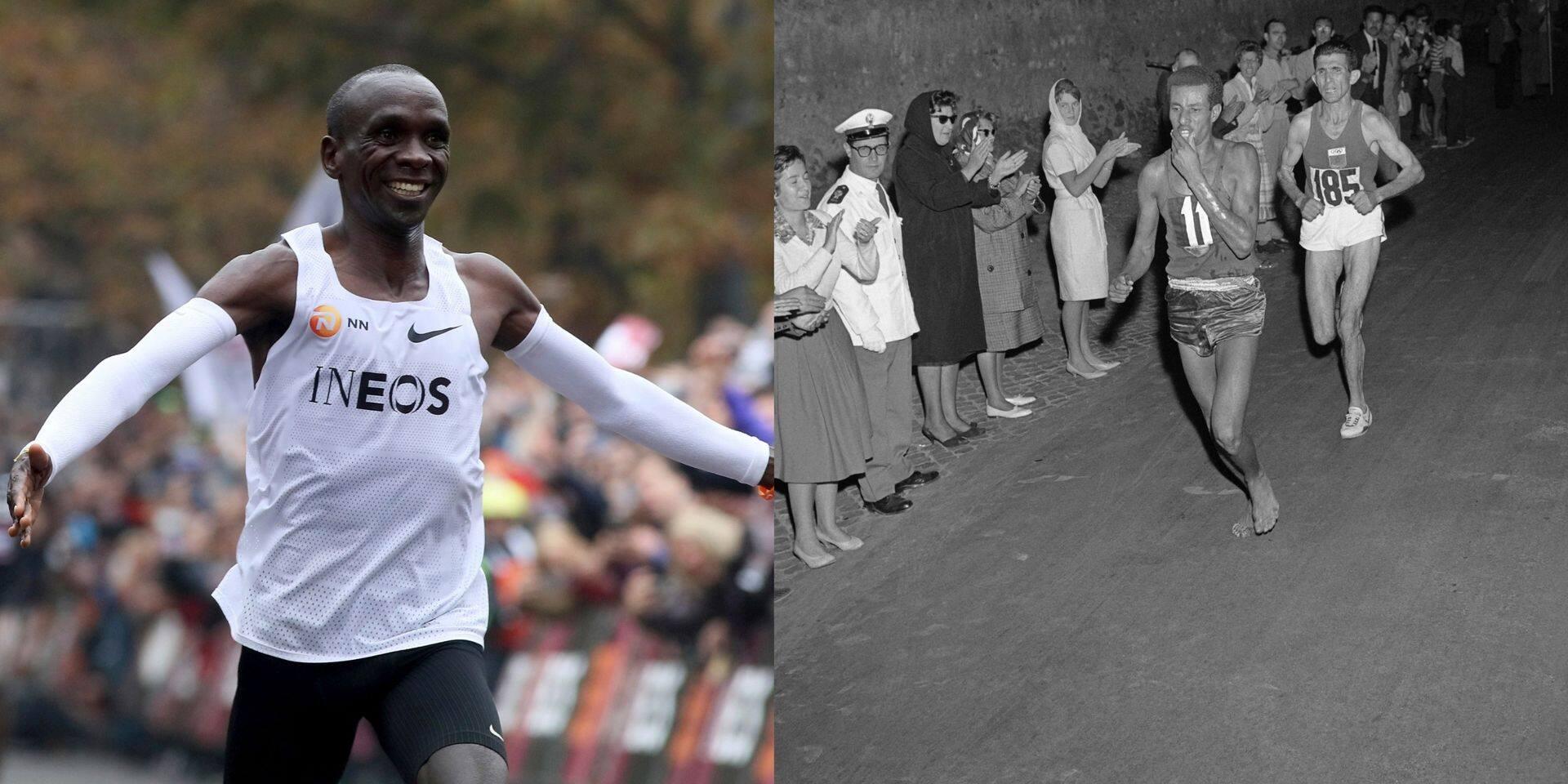 L'héritage d'Abebe Bikila, vainqueur d'un marathon... pieds nus