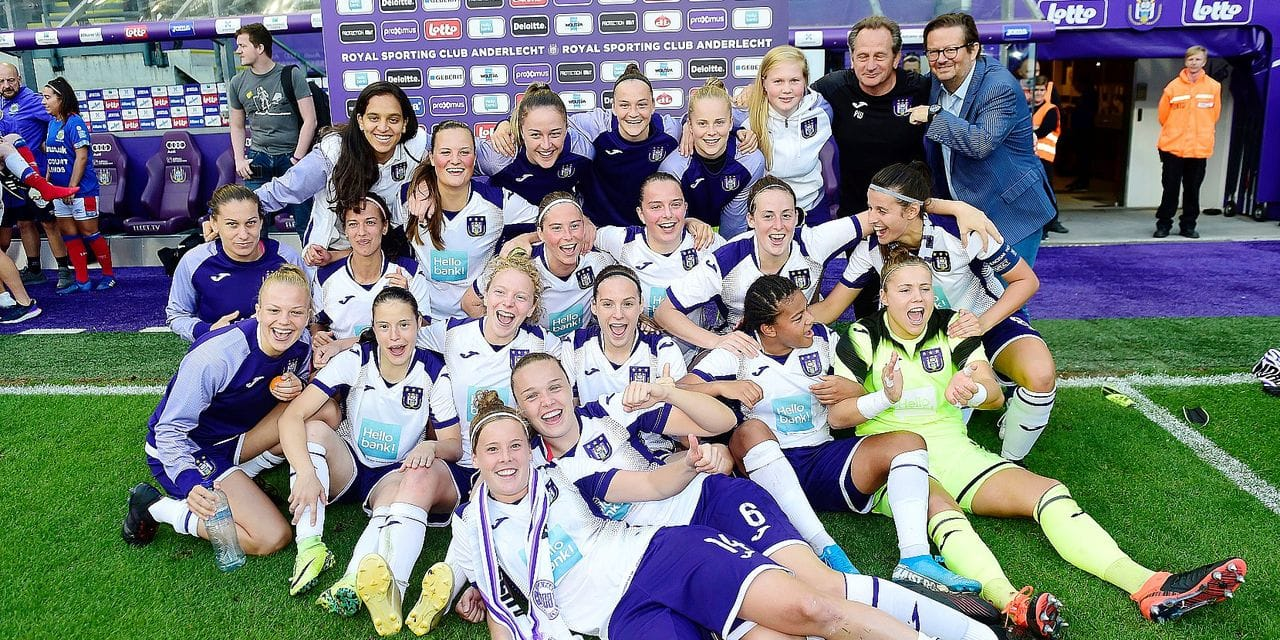Linfield Ladies v RSC Anderlecht Women - UEFA Womens Champions League