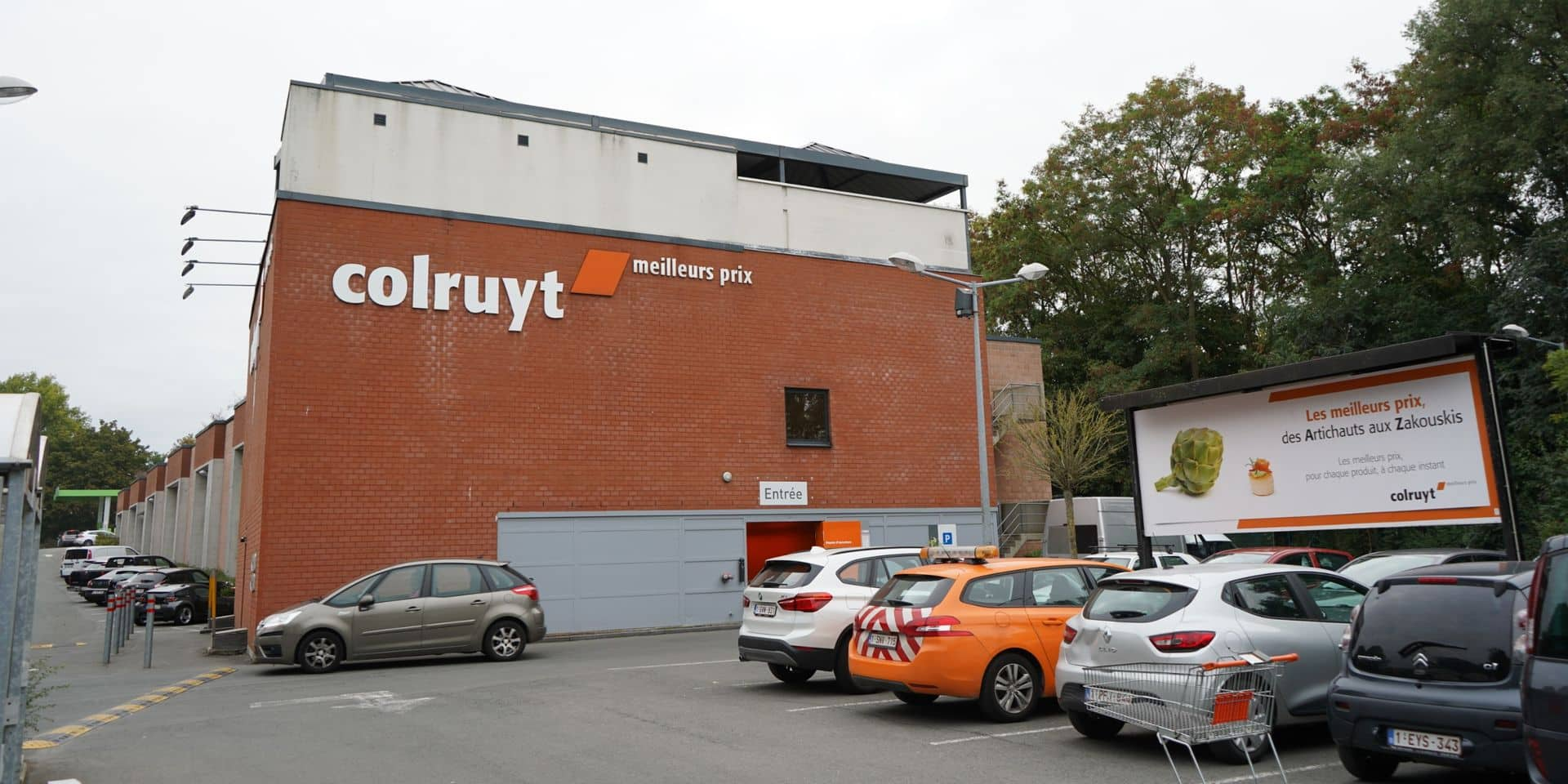 Le Colruyt de Nivelles braqué ce jeudi matin, les employés ont tenu à rouvrir le magasin