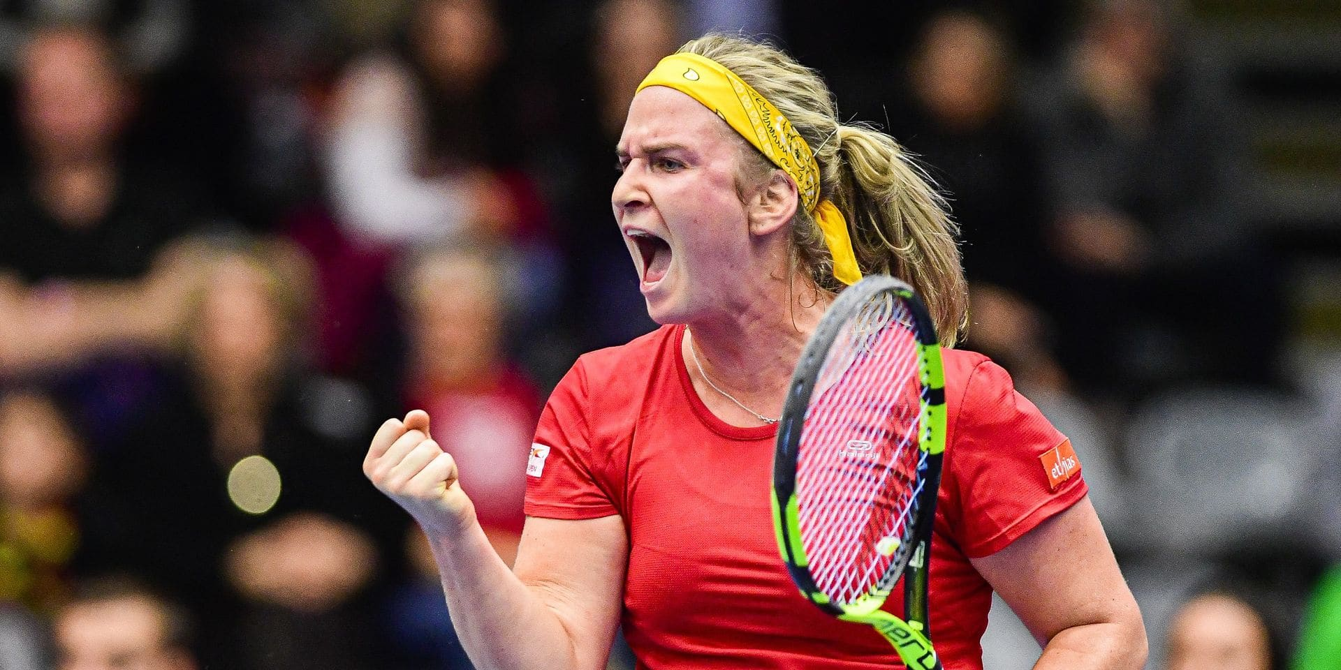 """Roland-Garros, aspect financier, avenir.. Ysaline Bonaventure se confie sur son parcours: """"Ma mère bosse 3 ans pour gagner mon chèque de l'US Open"""""""