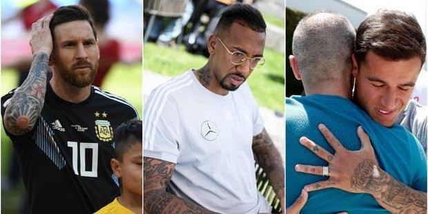Les tatouages sont partout à la Coupe du Monde ! - La DH