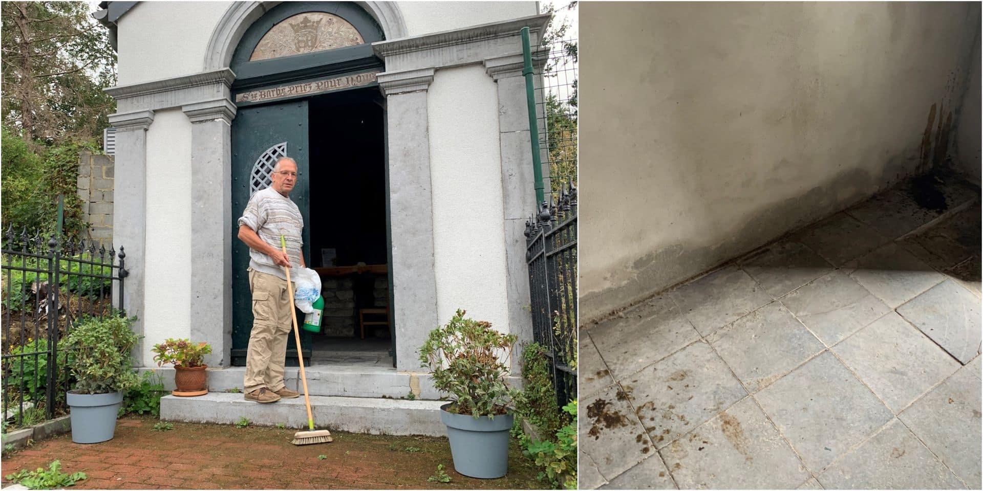 """Des mégots et des excréments retrouvés dans la chapelle Sainte-Barbe à Nivelles: """"C'est un manque absolu de respect"""""""