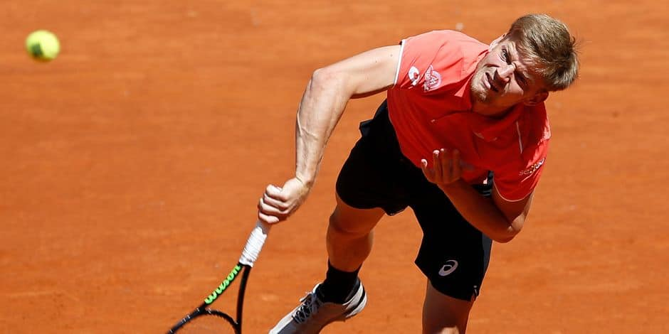 David Goffin affronte l'Argentin Mayer à Rome (Direct)