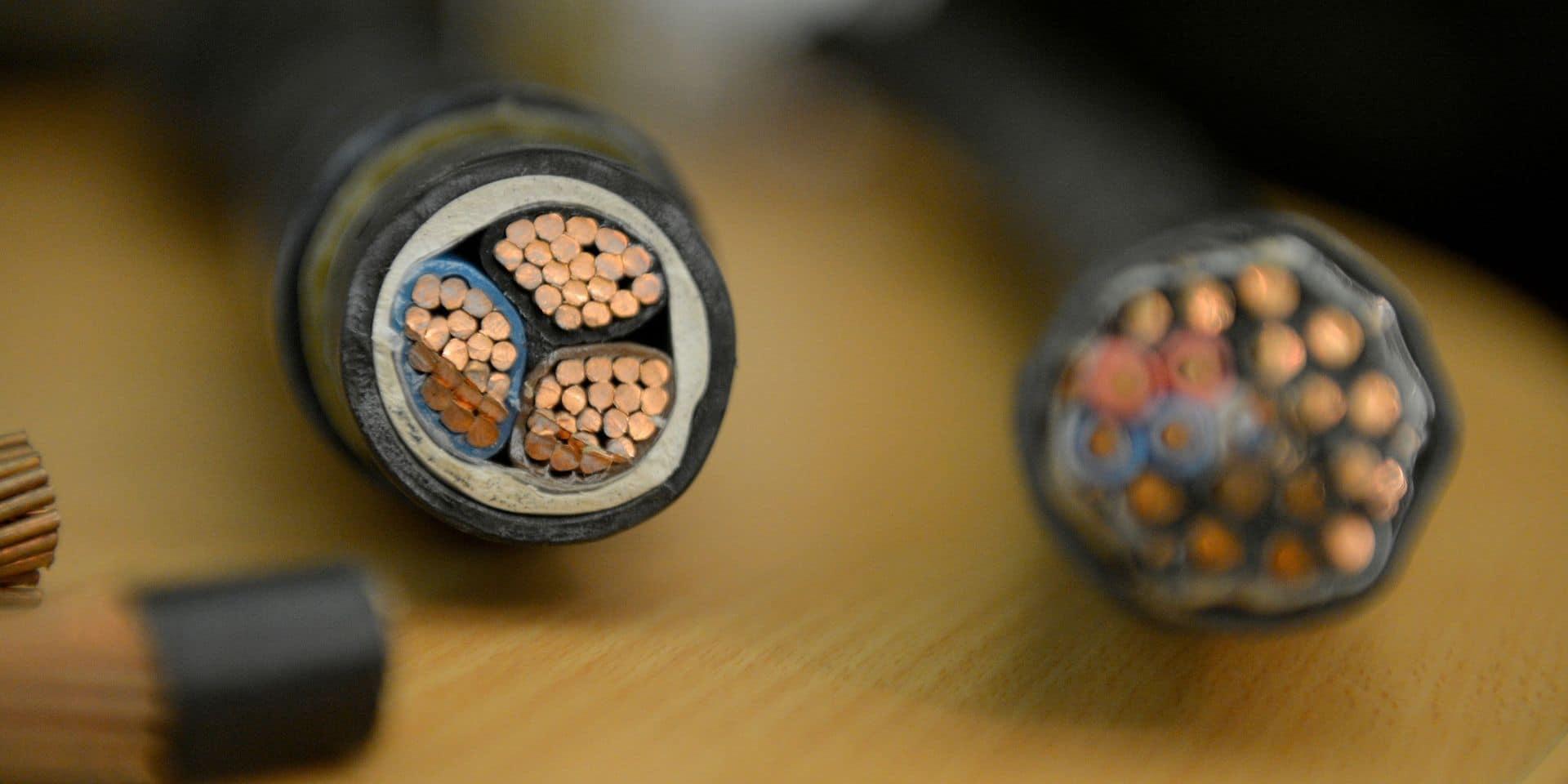 Eupen : lourdes peines pour des voleurs de câbles