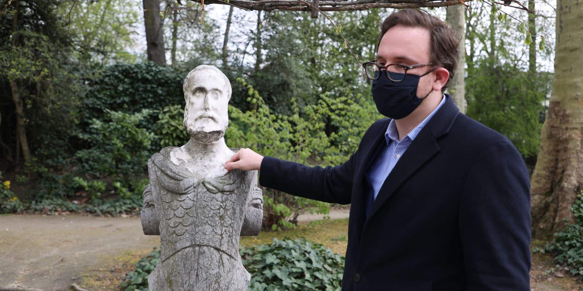 """Parc de Bruxelles : """"Nous devons protéger ce musée à ciel ouvert"""", alerte le députée MR David Weytsman"""