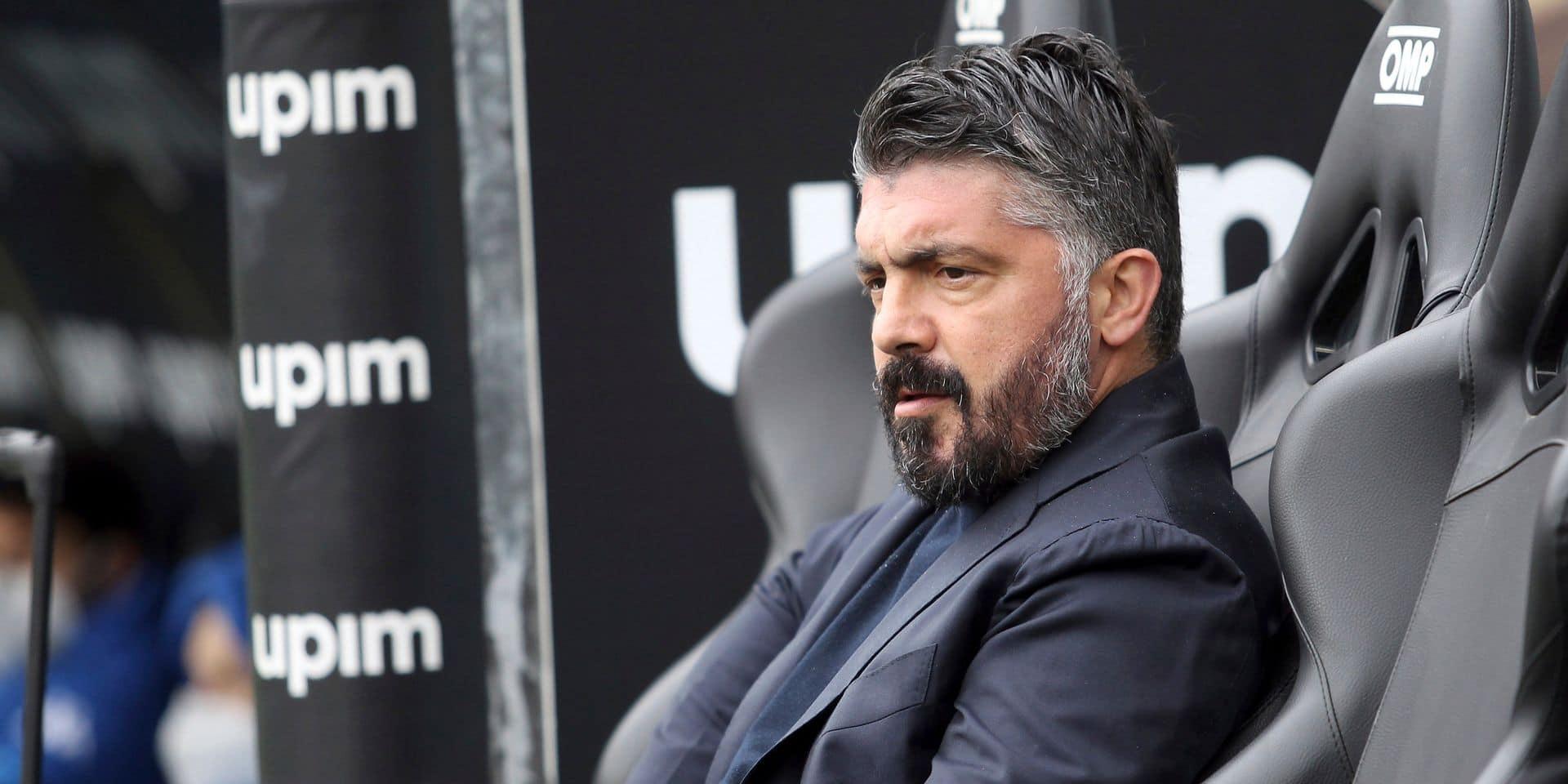 Gennaro Gattuso va quitter Naples