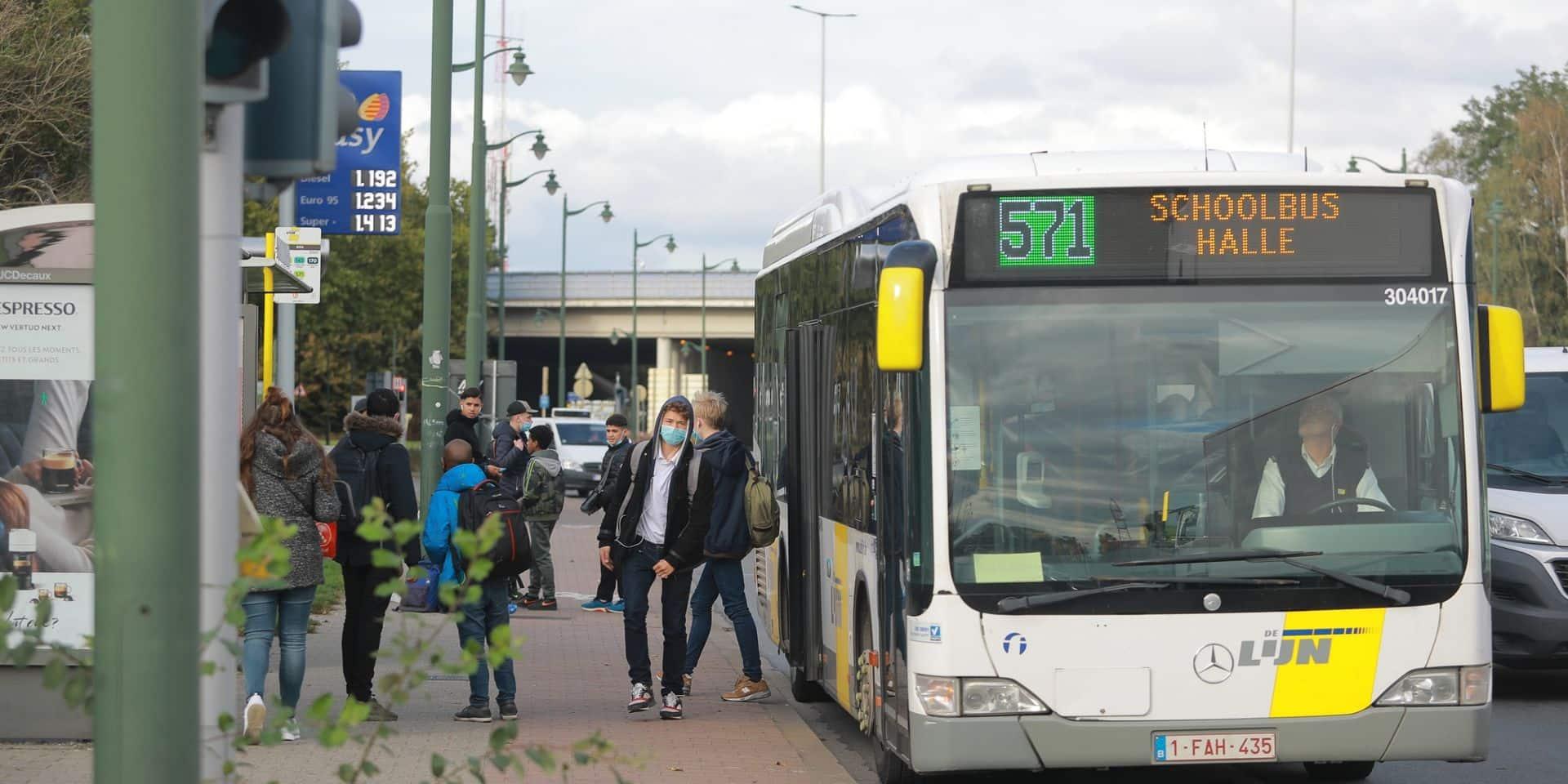 """Les bus bondés à Bruxelles : """"je pars travailler tous les jours avec la boule au ventre"""", s'insurge un conducteur De Lijn"""