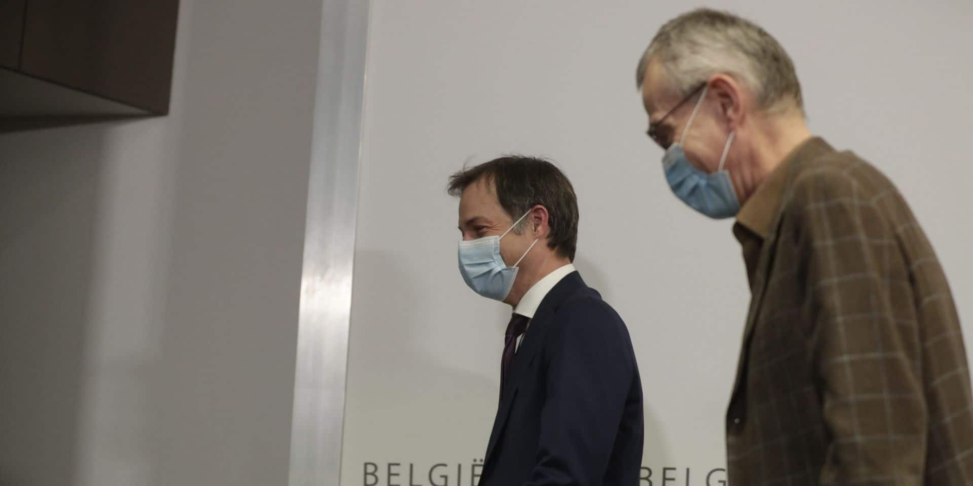 "Dave Sinardet: ""Le tandem De Croo-Vandenbroucke s'est effondré"""