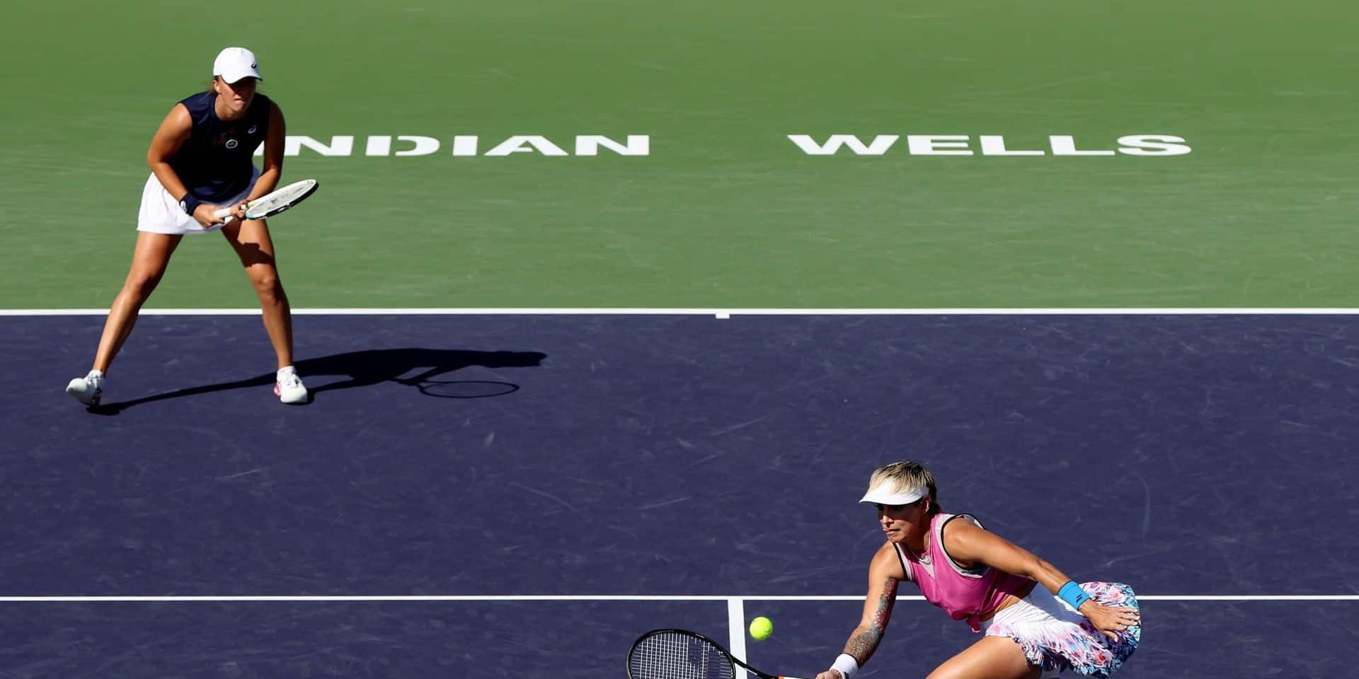 WTA Indian Wells: Elise Mertens qualifiée pour la demi-finale du tournoi en double