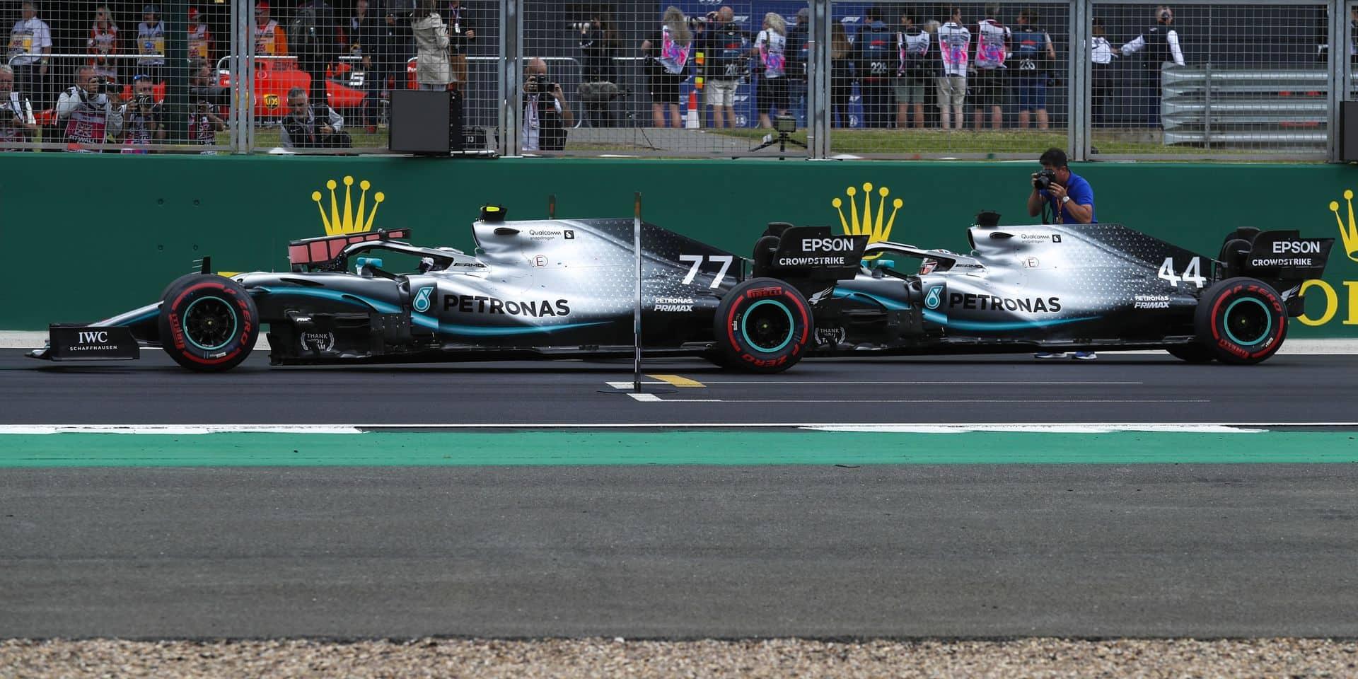 GP de Grande-Bretagne: Bottas pour gâcher la fête de Hamilton