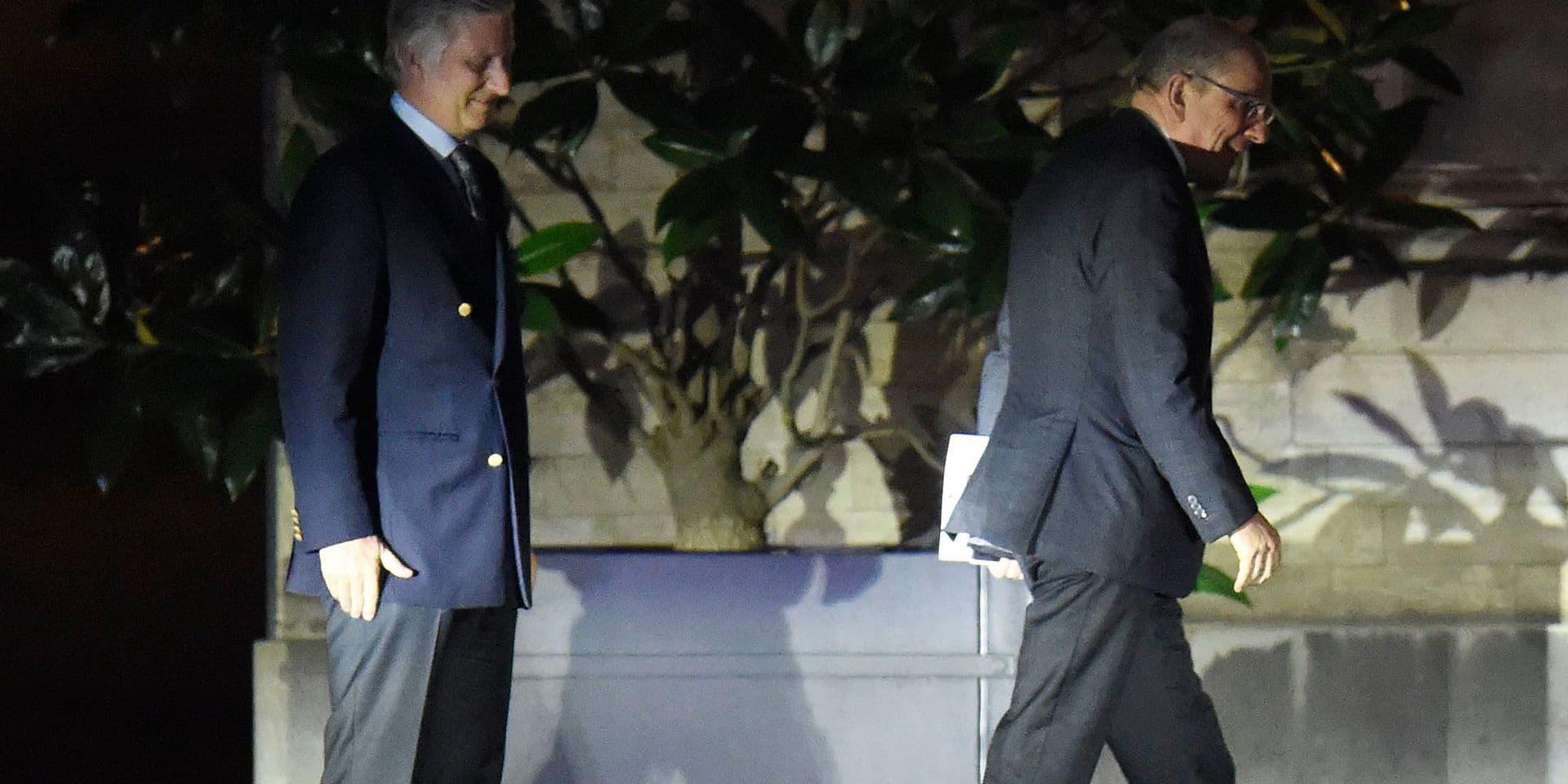 Informator Koen Geens to King Philippe / 14.02
