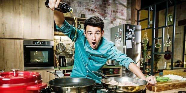 Loic Le Nouveau Cuisinier De Rtl Tvi A La Maison Je Cuisine Comme Tout Le Monde Dh Les Sports