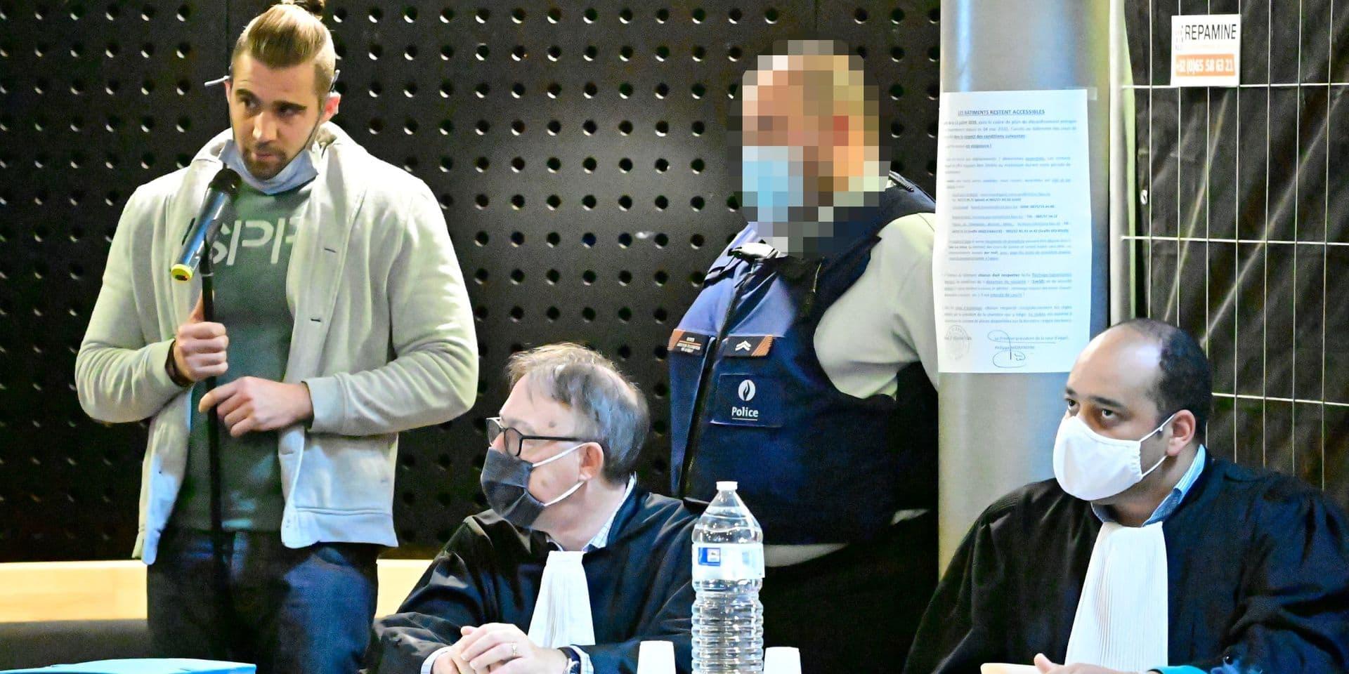 """Meurtre de Muriel Bauduin : """"J'étais perdu, j'ai fait n'importe quoi"""", déclare l'accusé"""