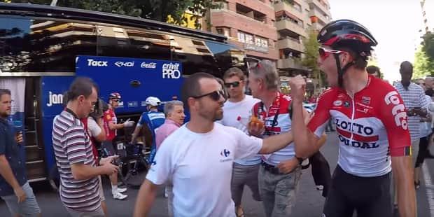 """Lefevere et Quick Step nargués par Wallays à la Vuelta: """"Il a bu un peu trop de caféine"""" (VIDEO) - La DH"""