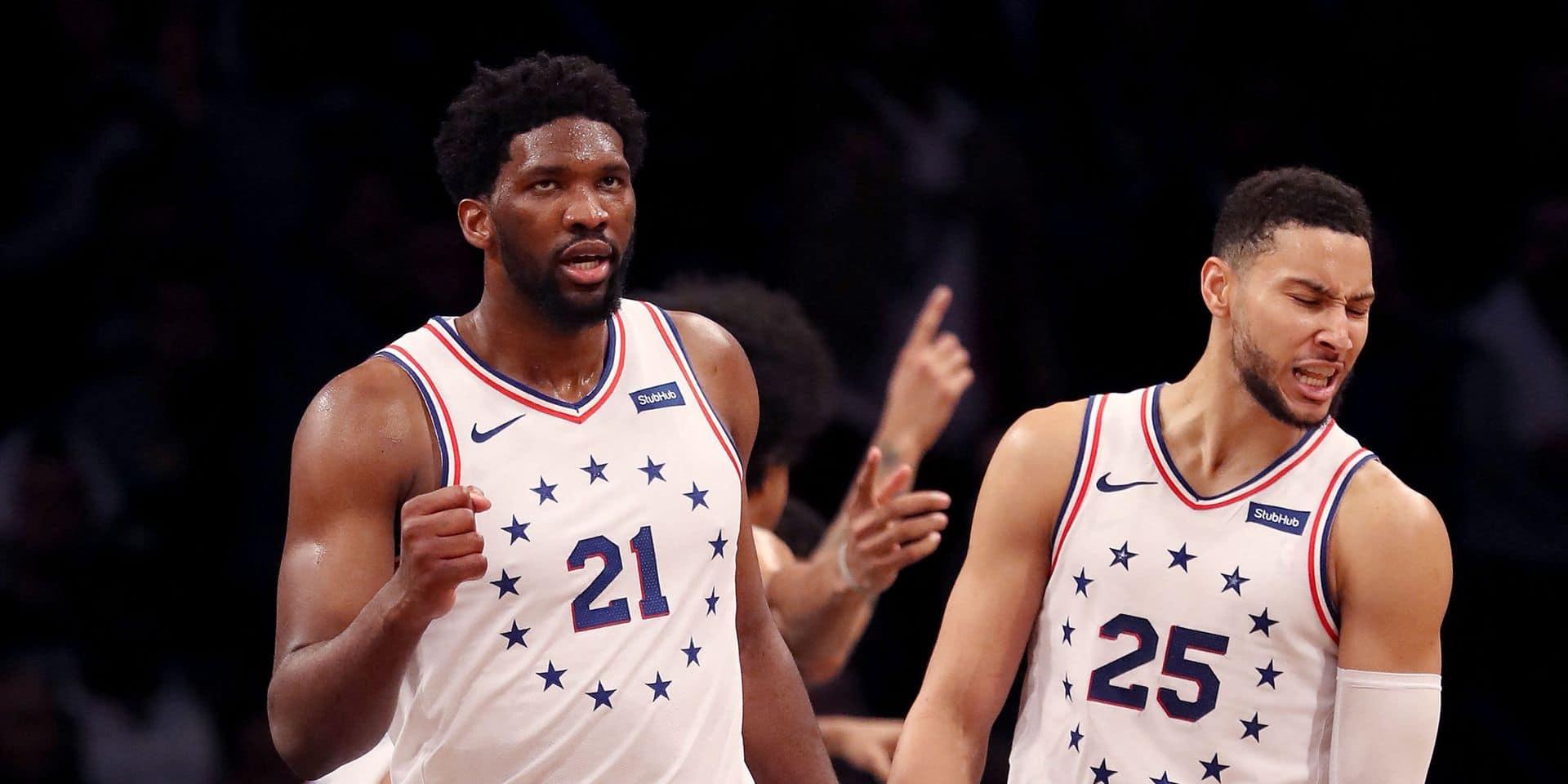Embiid et Simmons écartés du All-Star Game à cause du Covid