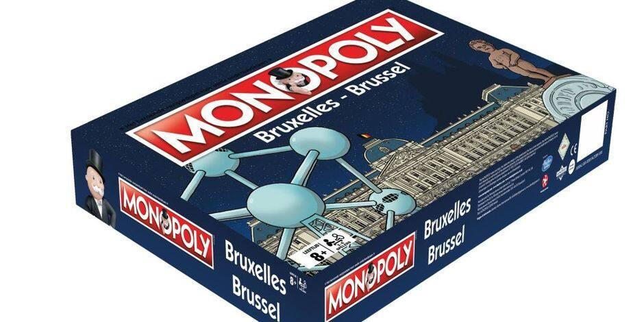 Insolite : Monopoly censure Manneken Pis sur le coffret de la version bruxelloise !