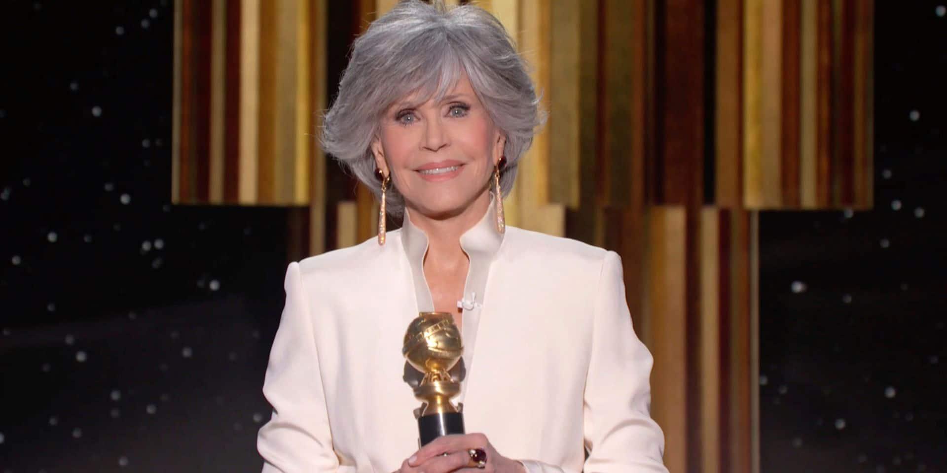 """Rencontre avec Jane Fonda, plus engagée que jamais à 83 ans : """"Si on ne résout pas la crise climatique, tout le reste n'aura plus aucune espèce d'importance"""""""