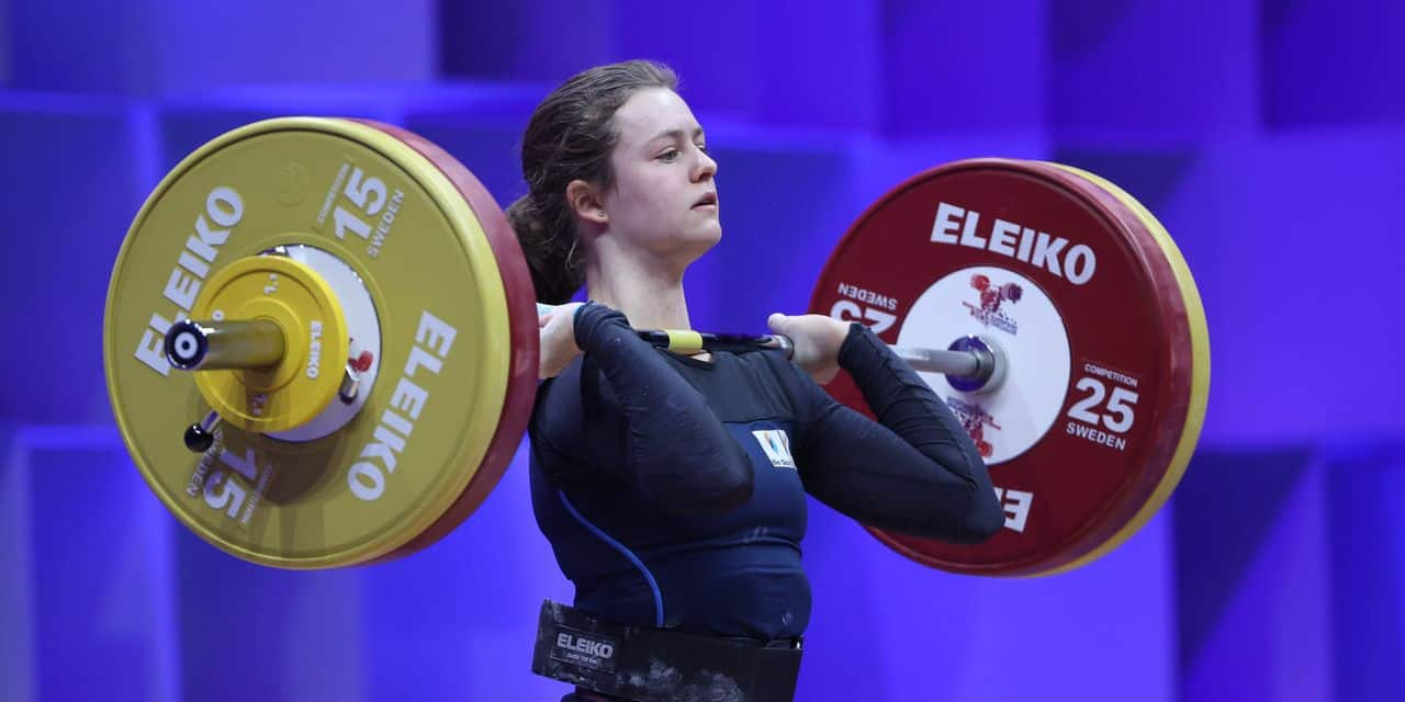 Haltérophilie : Nina Sterckx signe un nouvel exploit au Mondial juniors !