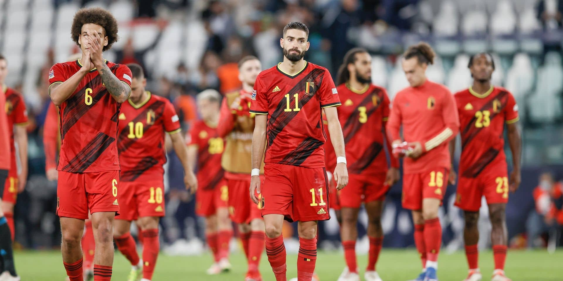 Une douzaine de matchs d'ici le Mondial au Qatar