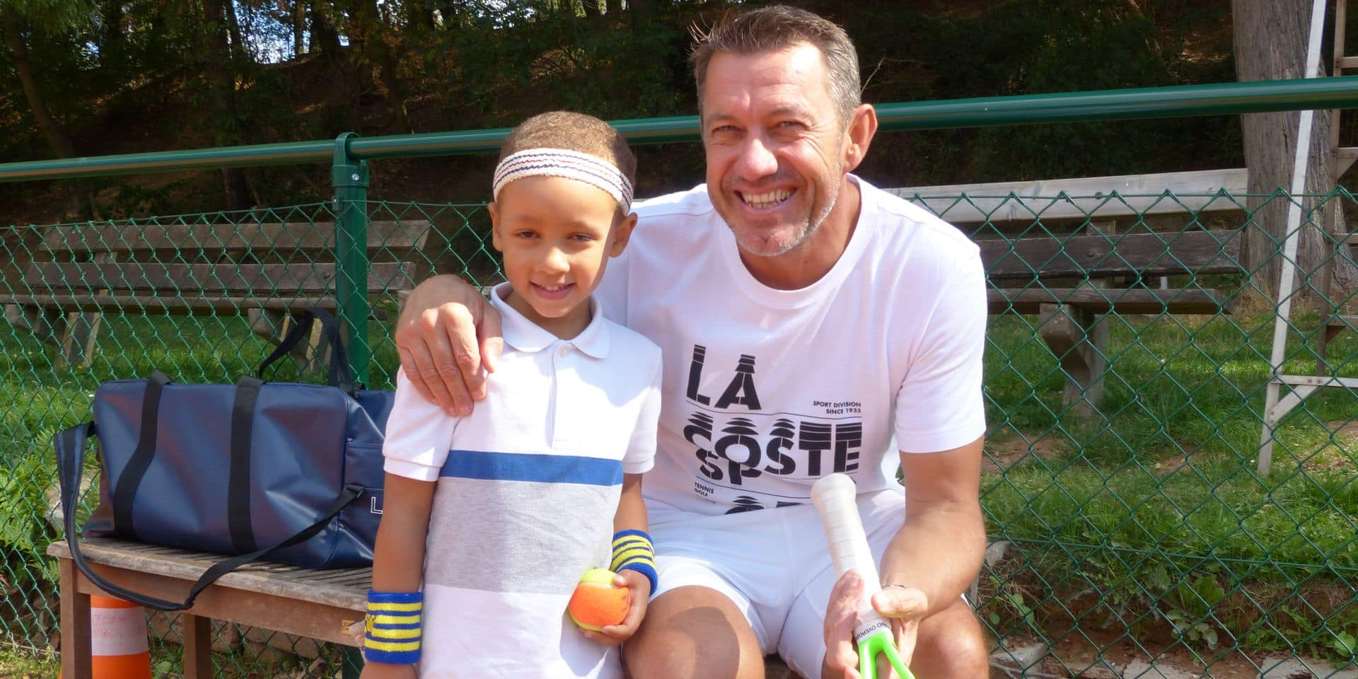 A 5 ans à peine, Matteo Camilo s'est entrainé avec Thierry Van Cleemput