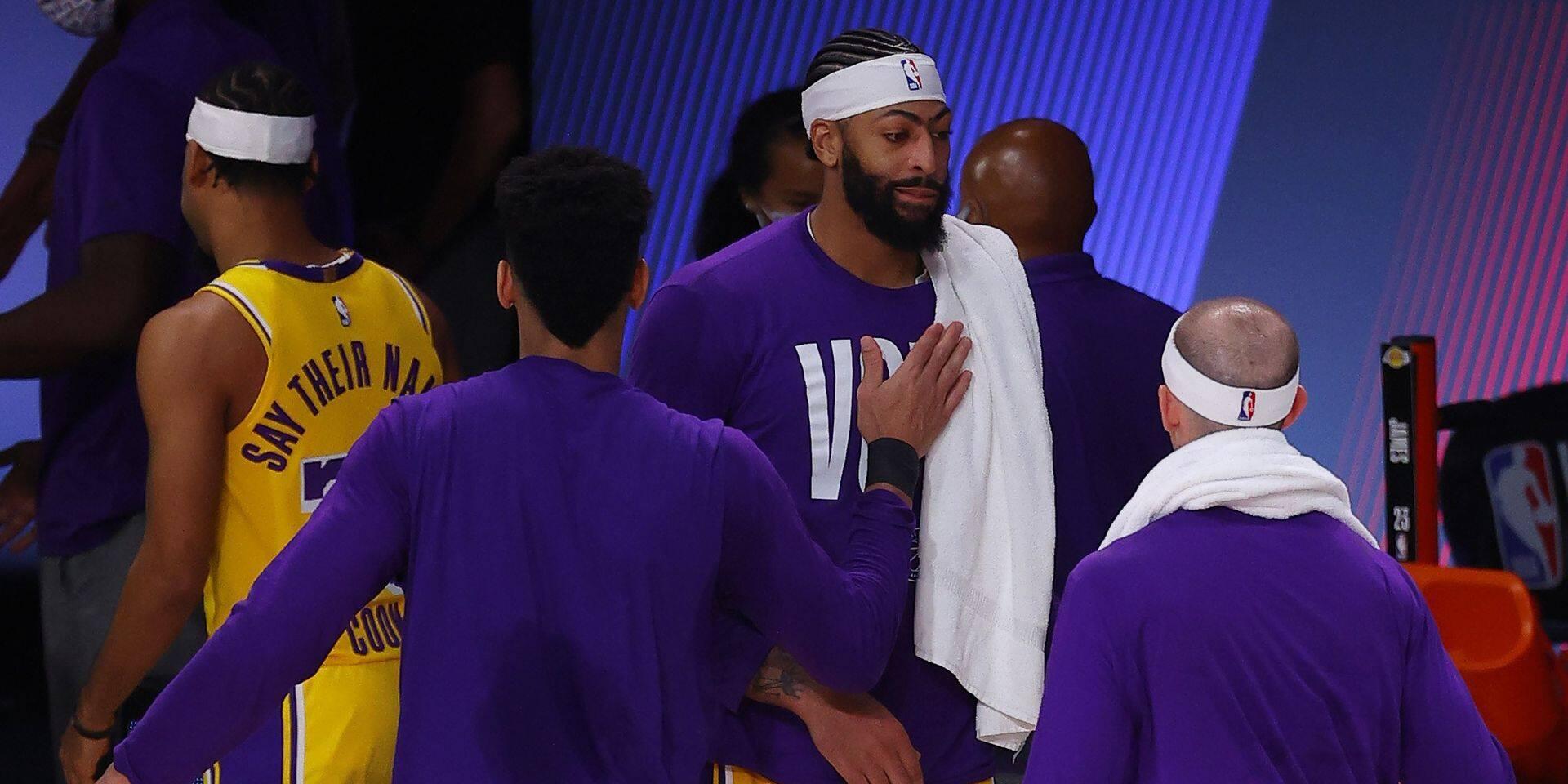 Play-offs NBA: Davis et les Lakers punissent les Nuggets d'entrée