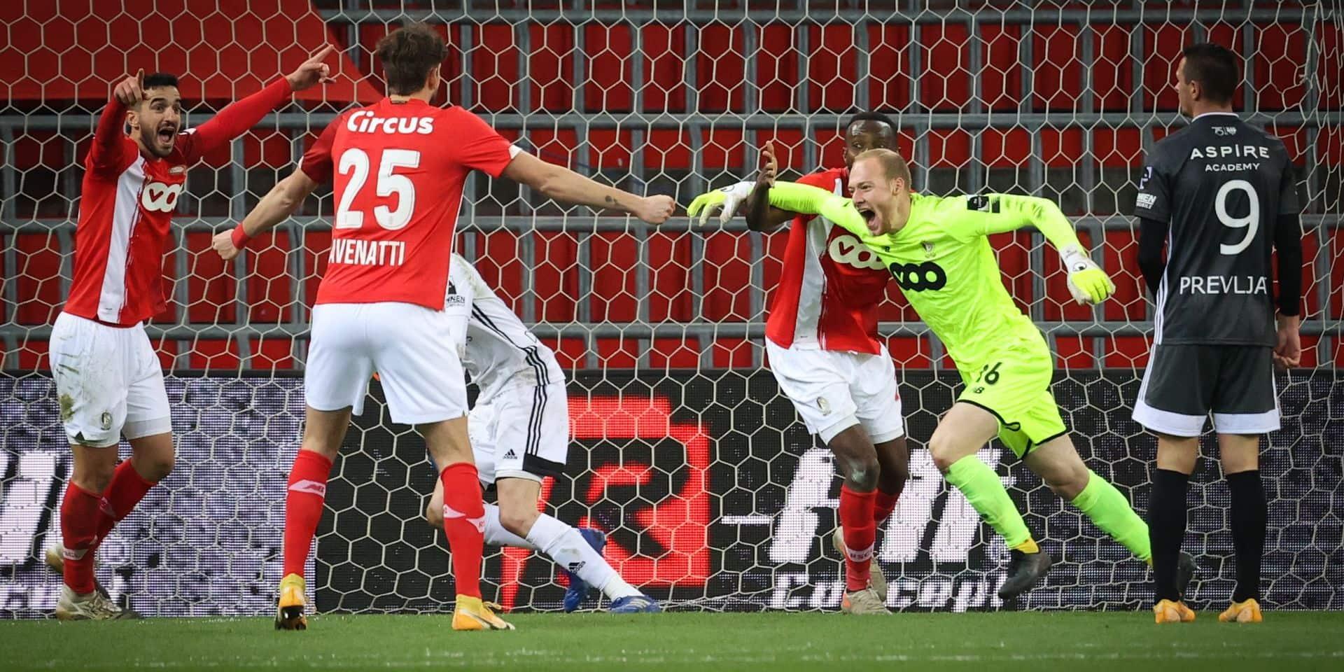 """Arnaud Bodart n'aurait """"jamais imaginé"""" marquer un but durant sa carrière"""