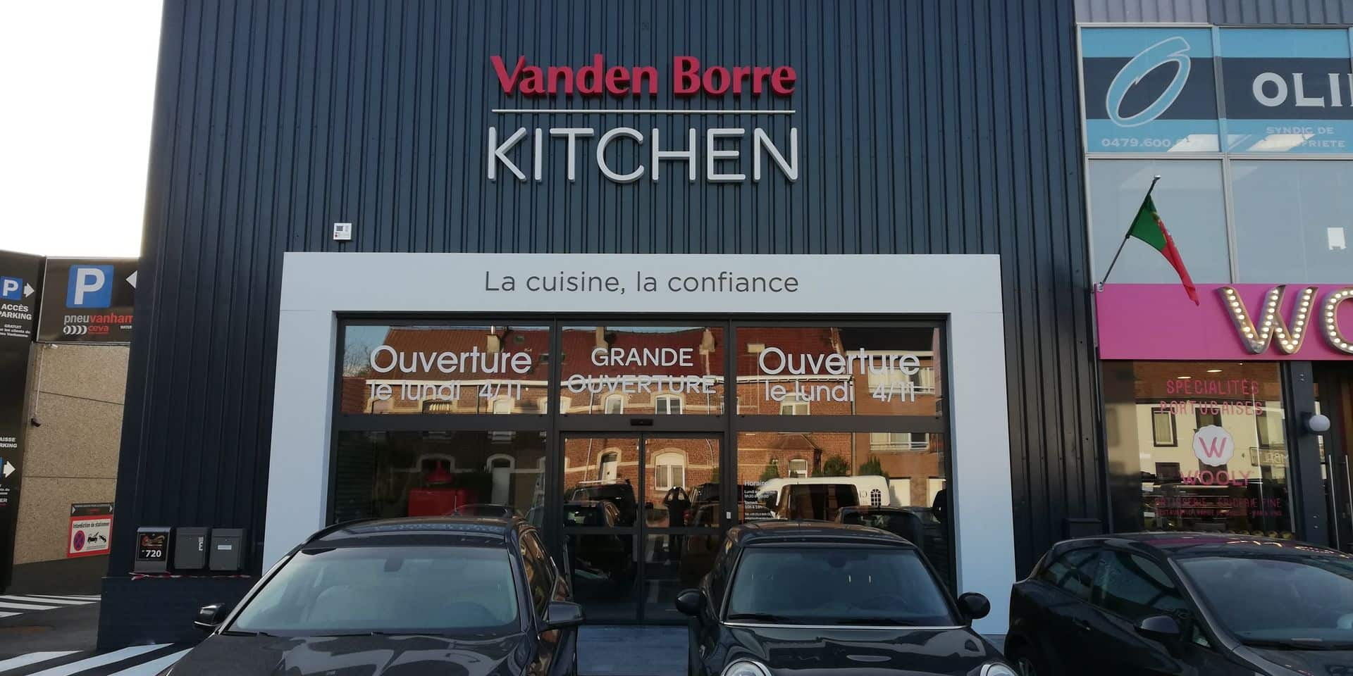 Vanden Borre Kitchen s'installe à Waterloo