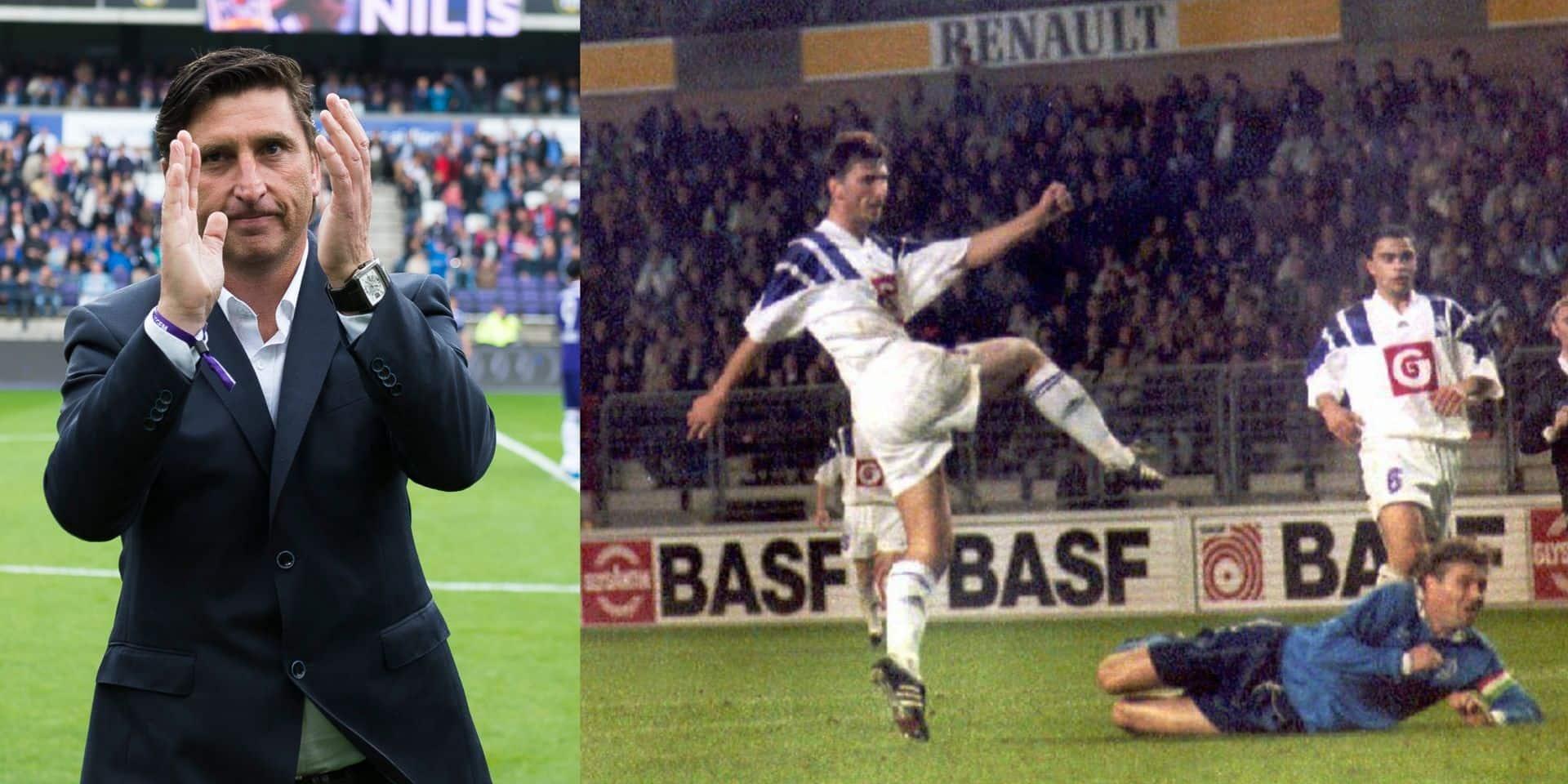 """Luc Nilis revient à Anderlecht, 26 ans plus tard: """"Ma vision correspond à celle de Kompany"""""""