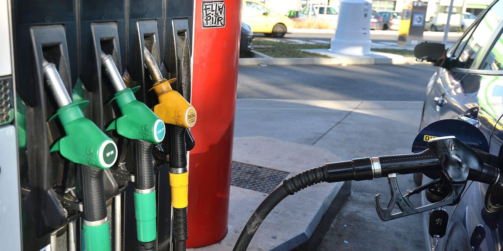 Les prix augmentent encore: le diesel et l'essence plus chers à la pompe vendredi