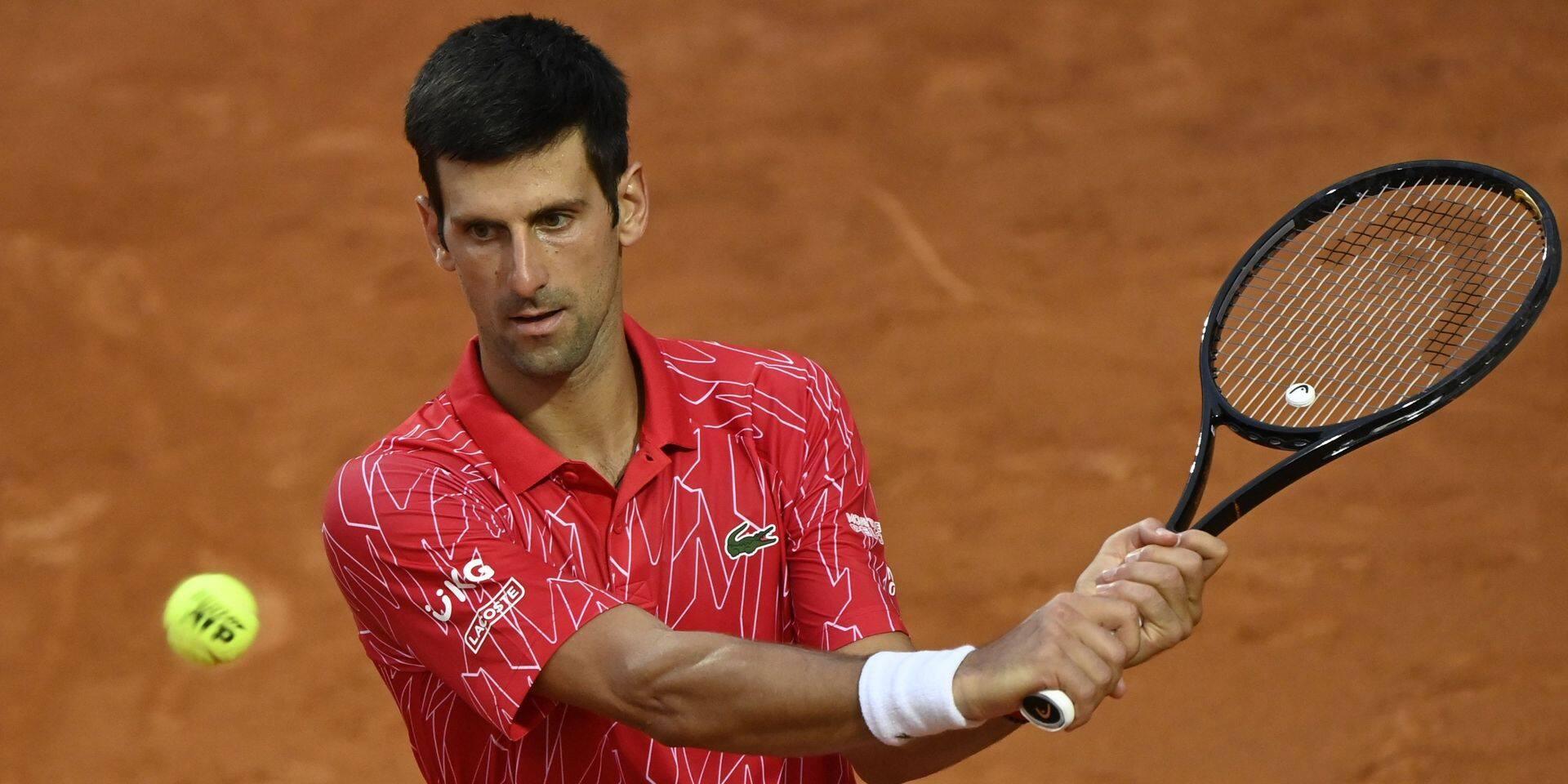 """Djokovic : """"Mon titre à Roland avait été le point culminant de ma carrière"""""""