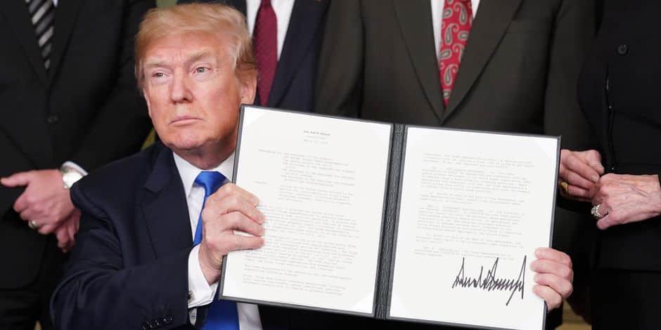 À la Maison-Blanche, la manie de Donald Trump de tout déchirer pèse sur son équipe