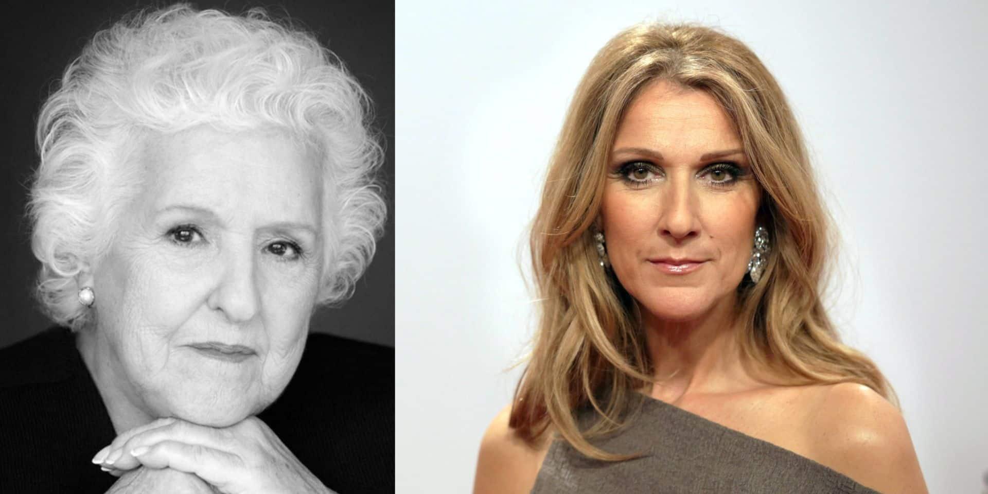 L'expression chère à la maman de Céline Dion gravée sur son urne