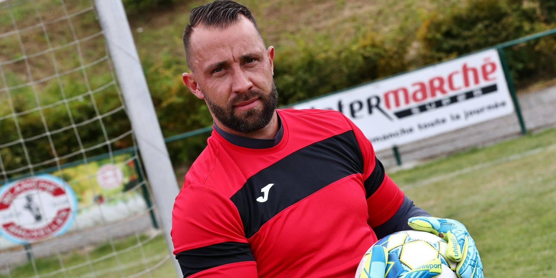 """Damien Lahaye a décidé de rebondir au PAC Buzet : """"Arrêter? Le football m'aurait énormément manqué"""""""