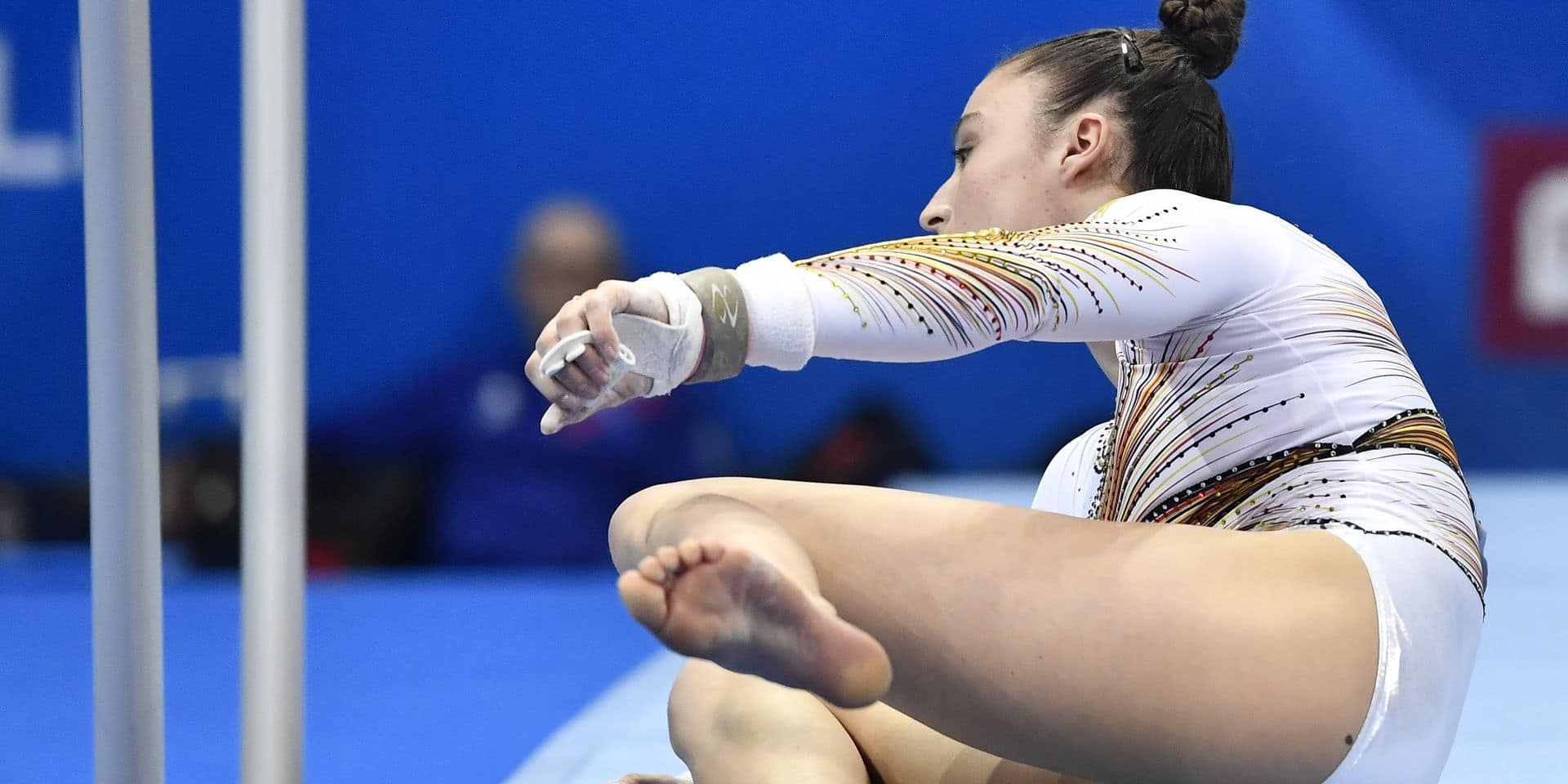 Jeux européens: Nina Derwael chute en finale et se classe quatrième !