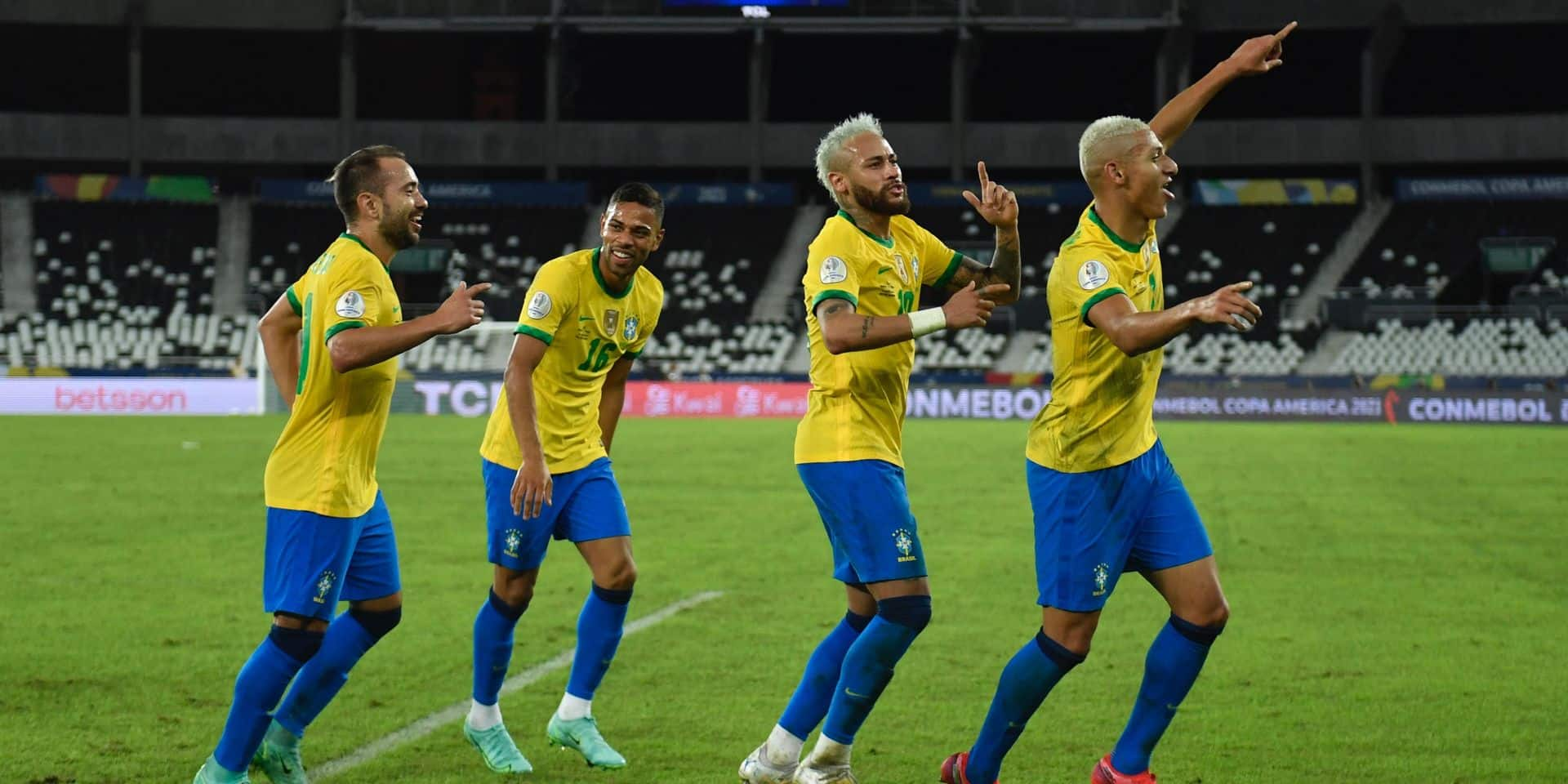 Copa America : Le Brésil en passe 4 au Pérou