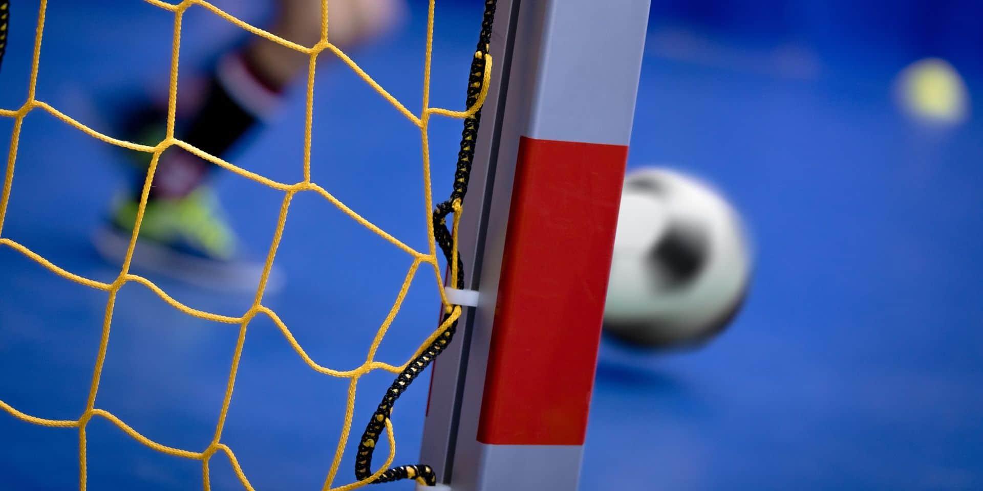 Christian Vavadio au Futsal Team Charleroi