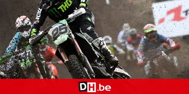 Belgian Clement Desalle pictured in action during the motocross MXGP Dutch Grand Prix, 2nd round of the FIM Motocross World Championship, Sunday 18 March 2018 in Valkenswaard, The Netherlands. BELGA PHOTO YORICK JANSENS