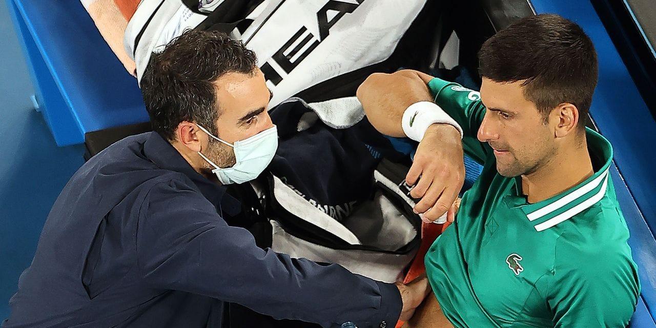 Novak Djokovic va-t-il jeter l'éponge à l'Australian Open?