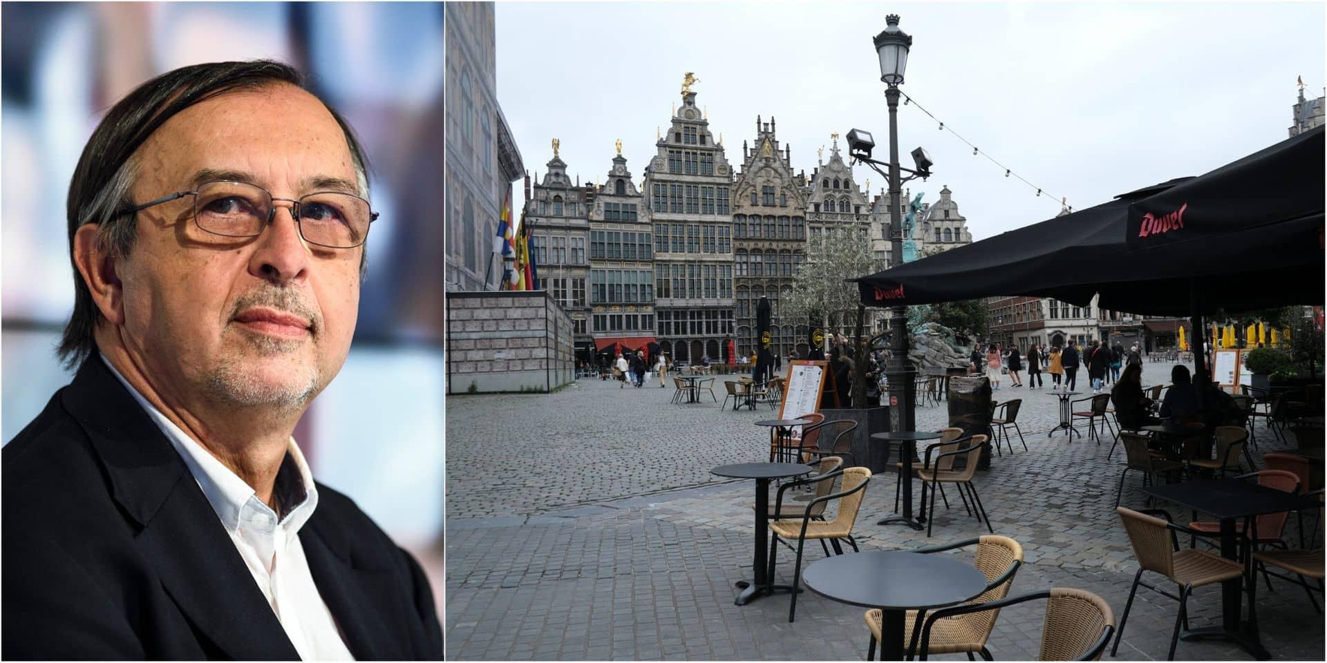 """""""On est le nez sur un lockdown partiel"""", """"vers des bulles réduites, proches de zéro"""": Yves Van Laethem analyse la situation actuelle et se veut pessimiste"""
