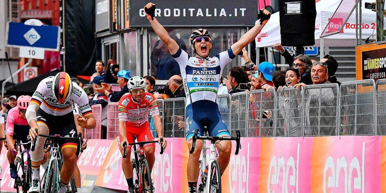 Cima a frustré les sprinteurs du Giro