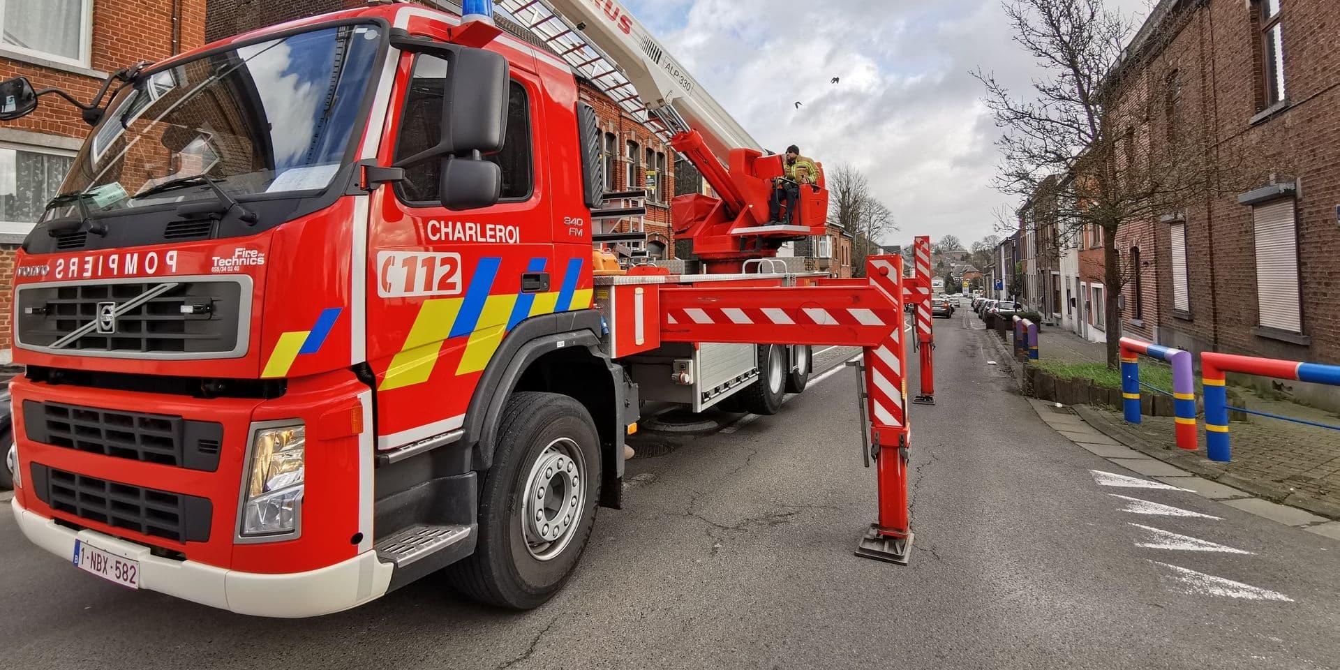 Charleroi: près de 650 appels aux pompiers en deux jours