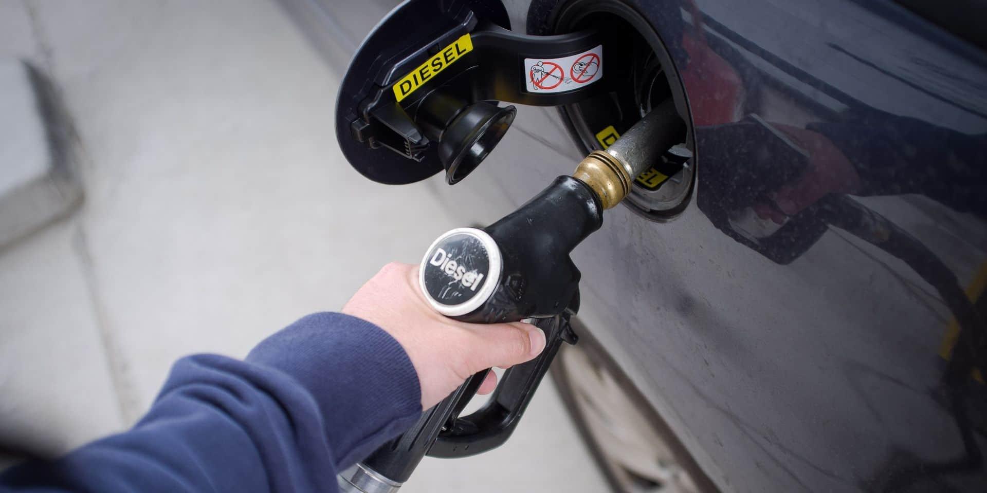 Le diesel encore plus cher dès demain samedi