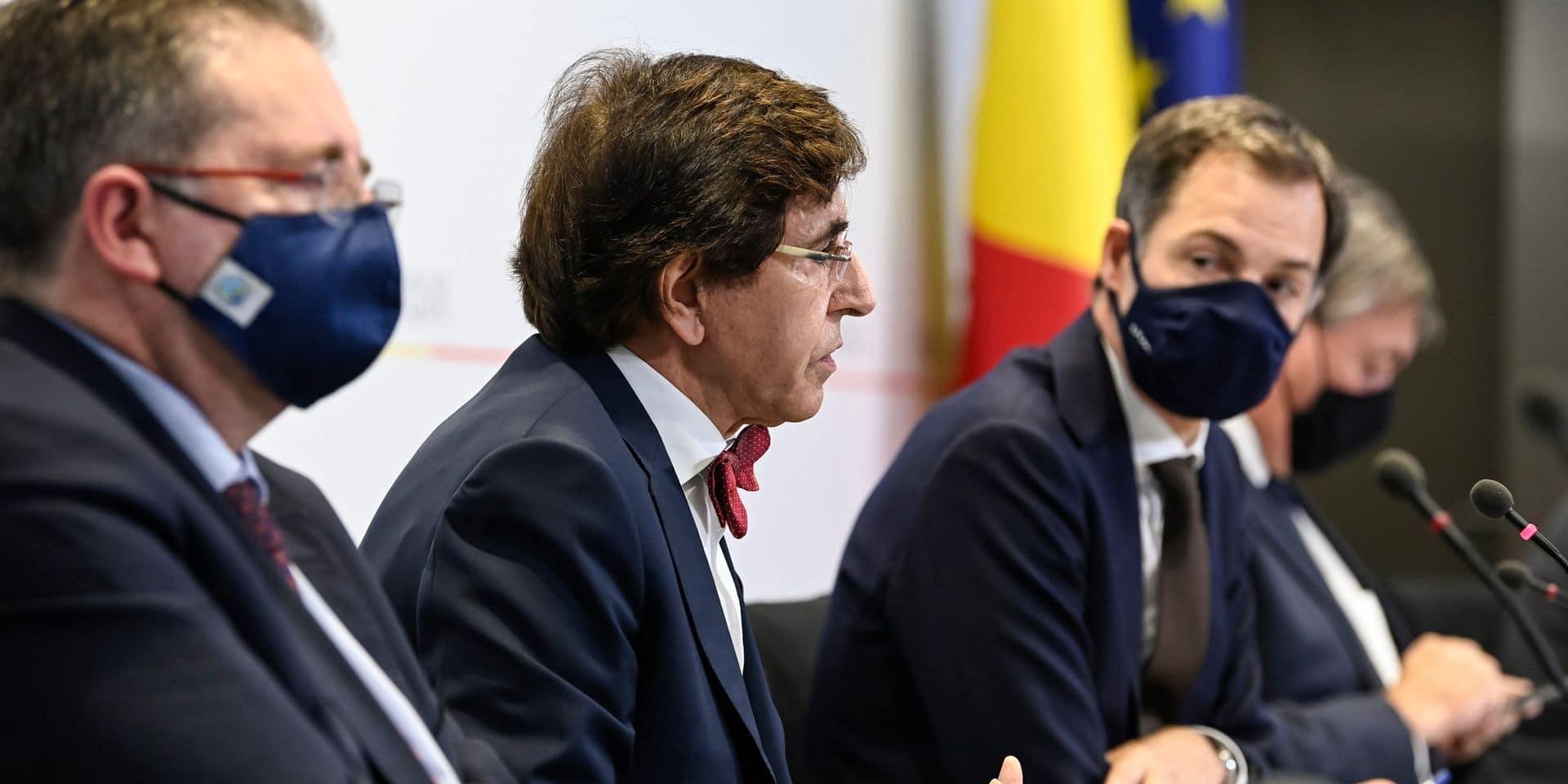 """Quand Elio Di Rupo feint de passer en force au Comité de concertation : """"Il a un peu roulé des mécaniques"""""""