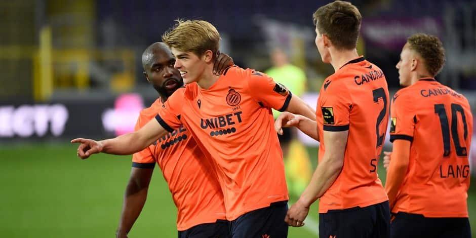 Le FC Bruges prend un point à Anderlecht et est officiellement champion de Belgique !