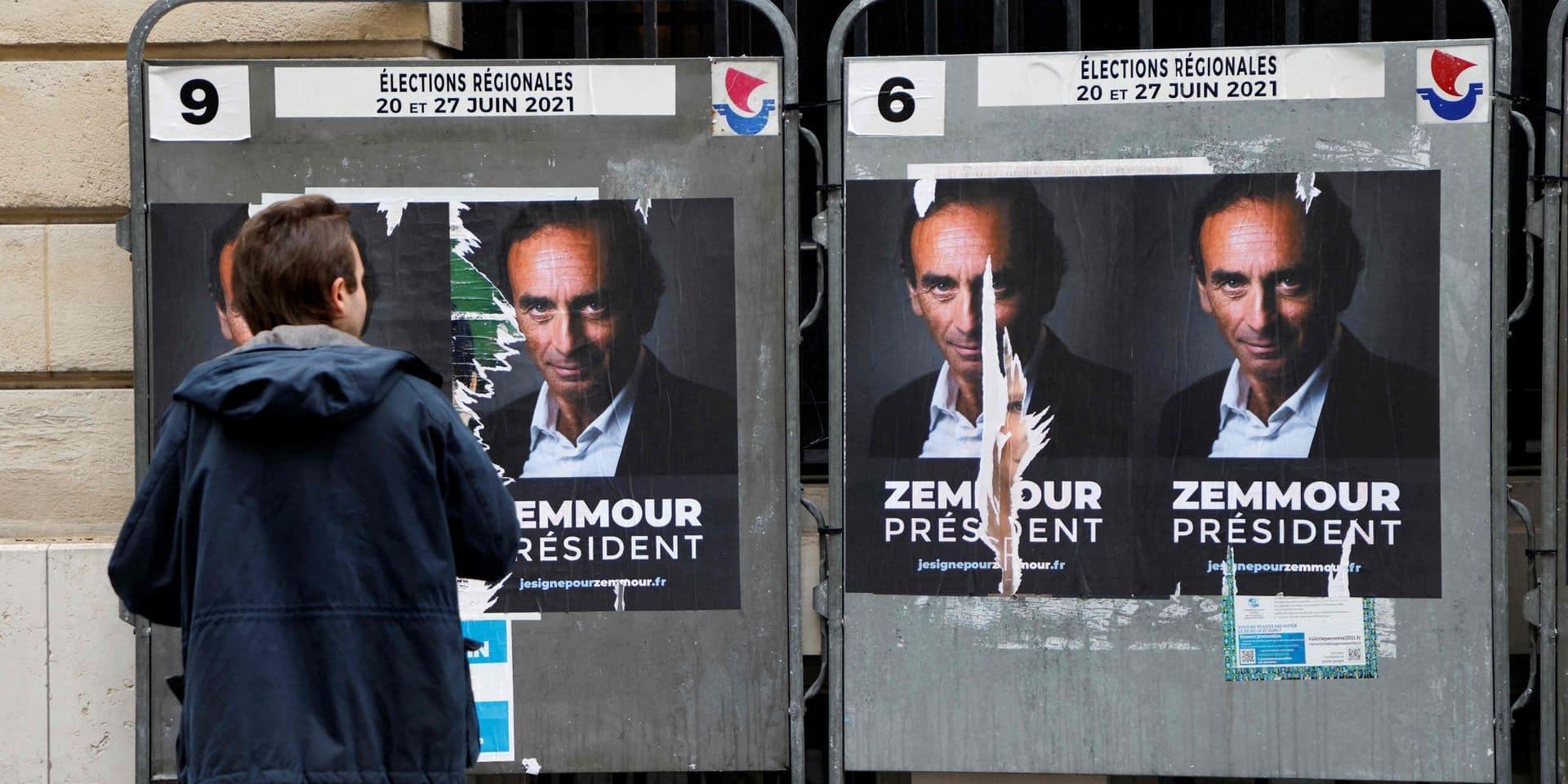 """Albin Michel rompt avec Eric Zemmour parce qu'il """"veut devenir homme politique"""" et """"s'engager dans la présidentielle"""""""