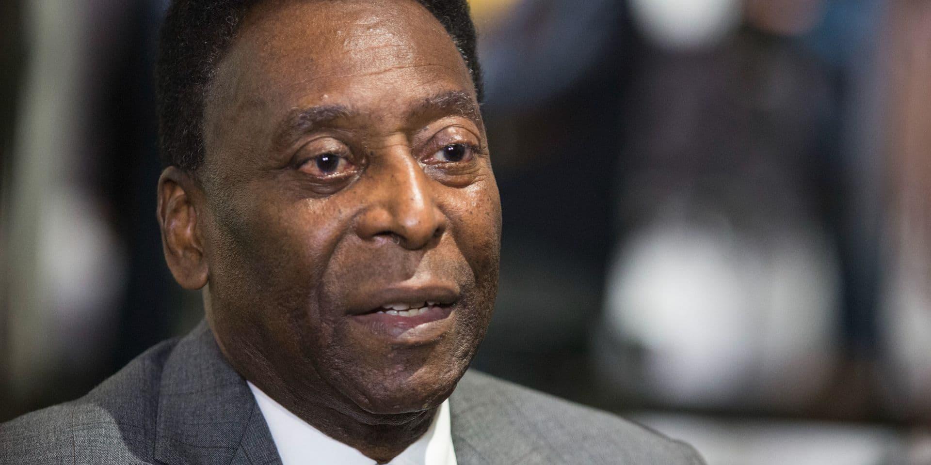Remis sur pied, Pelé espère sortir bientôt de l'hôpital