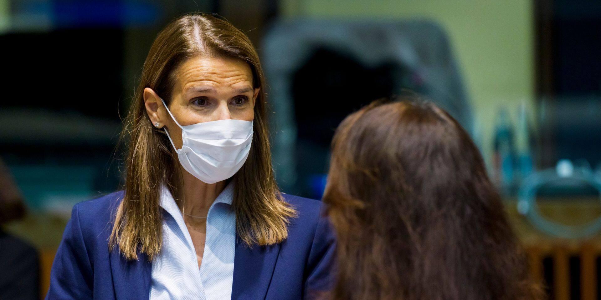 Sophie Wilmès est sortie de l'hôpital: elle poursuivra sa convalescence à son domicile