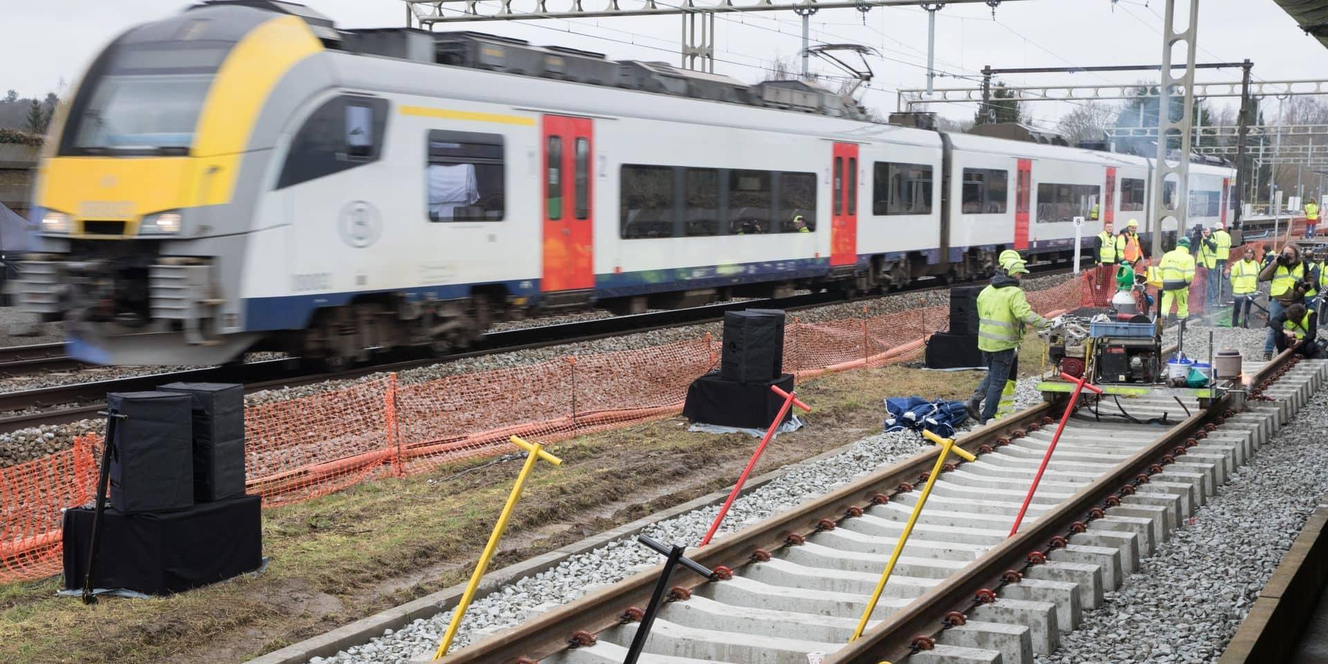 La circulation des trains perturbée entre Ottignies et Bruxelles après un accident avec un tracteur