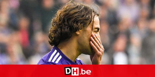 Anderlecht's Lazar Markovic looks dejected during the Jupiler Pro League match between RSC Anderlecht and Standard de Liege, in Brussels, Thursday 10 May 2018, on day eight of the Play-Off 1 of the Belgian soccer championship. BELGA PHOTO LAURIE DIEFFEMBACQ