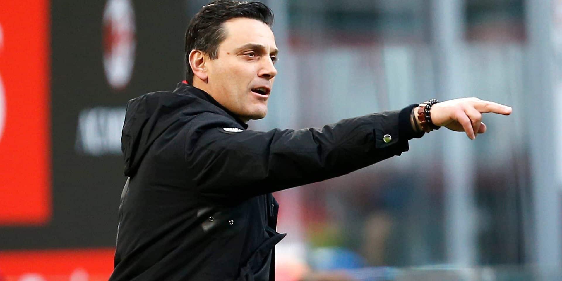 Vincenzo Montella proposé à Anderlecht